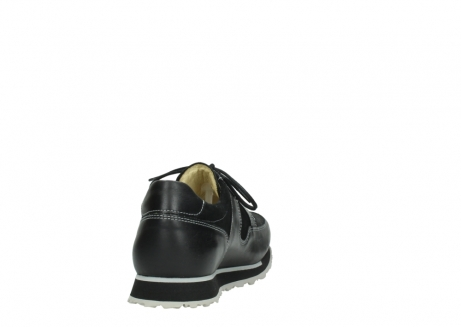 wolky lace up shoes 05800 e walk 20009 black stretch leather_8