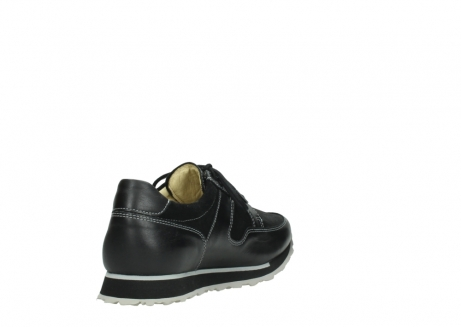 wolky lace up shoes 05800 e walk 20009 black stretch leather_9