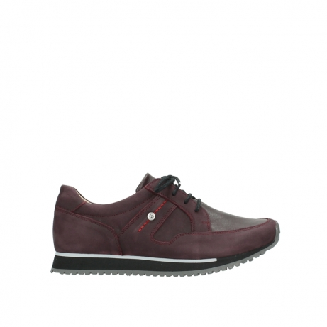 wolky lace up shoes 05800 e walk 20510 burgundy nubuck