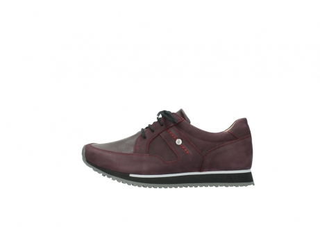 wolky lace up shoes 05800 e walk 20510 burgundy nubuck_1