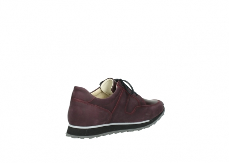 wolky lace up shoes 05800 e walk 20510 burgundy nubuck_10