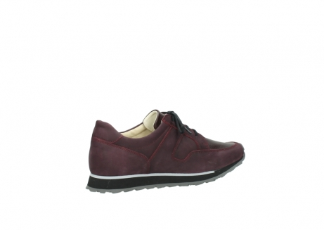 wolky lace up shoes 05800 e walk 20510 burgundy nubuck_11