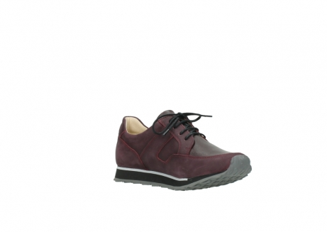 wolky lace up shoes 05800 e walk 20510 burgundy nubuck_16