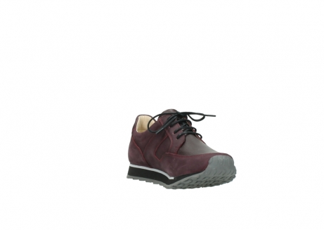wolky lace up shoes 05800 e walk 20510 burgundy nubuck_17