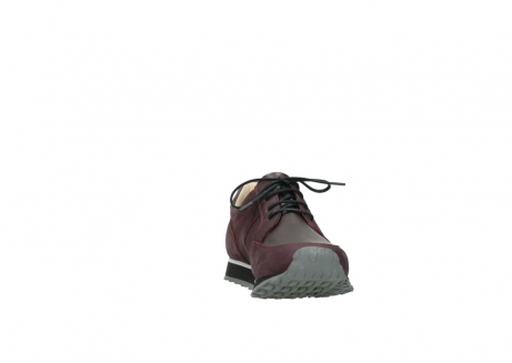 wolky lace up shoes 05800 e walk 20510 burgundy nubuck_18