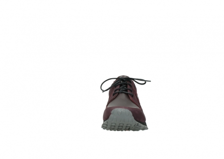 wolky lace up shoes 05800 e walk 20510 burgundy nubuck_19
