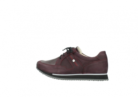 wolky lace up shoes 05800 e walk 20510 burgundy nubuck_2