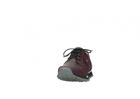 wolky veterschoenen 05800 e walk 20510 bordeaux nubuck_20