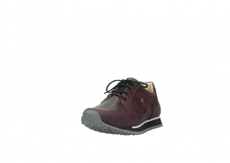 wolky lace up shoes 05800 e walk 20510 burgundy nubuck_21