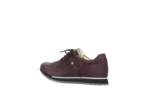 wolky lace up shoes 05800 e walk 20510 burgundy nubuck_3