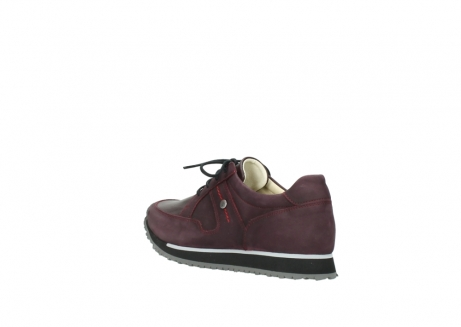 wolky lace up shoes 05800 e walk 20510 burgundy nubuck_4