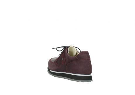 wolky lace up shoes 05800 e walk 20510 burgundy nubuck_5