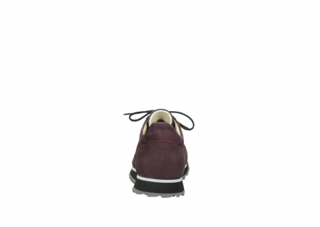 wolky lace up shoes 05800 e walk 20510 burgundy nubuck_7