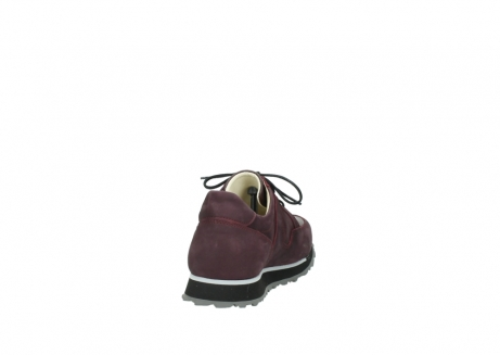 wolky lace up shoes 05800 e walk 20510 burgundy nubuck_8