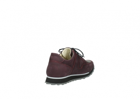 wolky lace up shoes 05800 e walk 20510 burgundy nubuck_9