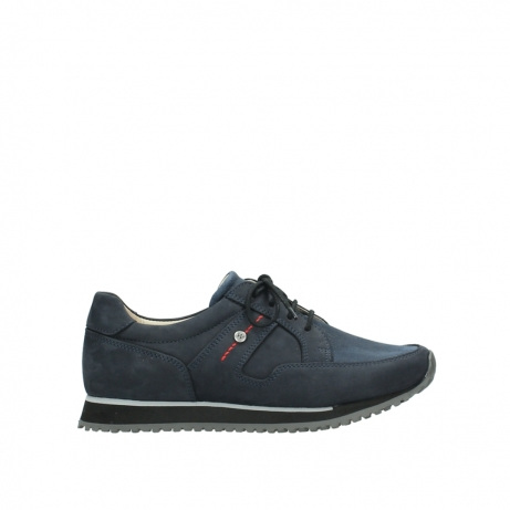 wolky chaussures a lacets 05800 e walk 20800 nubuck bleu