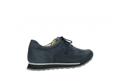 wolky chaussures a lacets 05800 e walk 20809 cuir stretch bleu_11