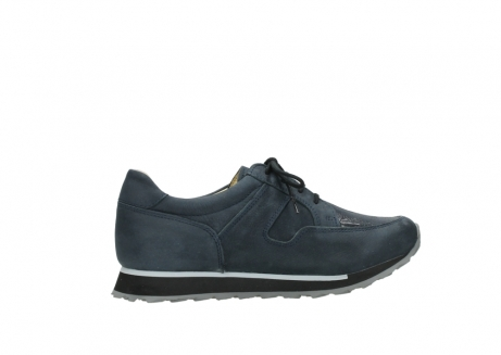 wolky chaussures a lacets 05800 e walk 20809 cuir stretch bleu_12