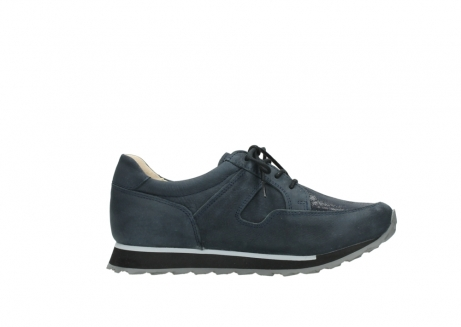 wolky chaussures a lacets 05800 e walk 20809 cuir stretch bleu_13