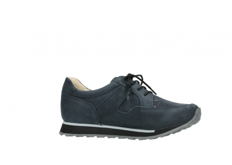 wolky chaussures a lacets 05800 e walk 20809 cuir stretch bleu_14