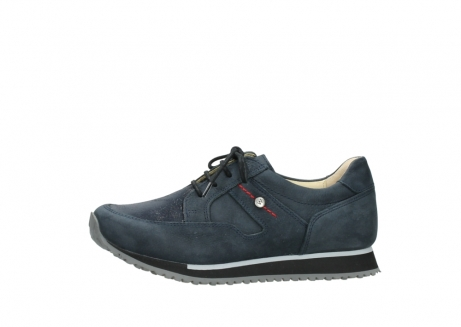wolky chaussures a lacets 05800 e walk 20809 cuir stretch bleu_24