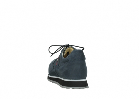 wolky chaussures a lacets 05800 e walk 20809 cuir stretch bleu_6