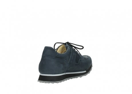 wolky lace up shoes 05800 e walk 20809 blue stretch leather_9