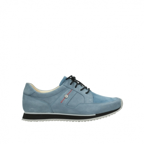 wolky lace up shoes 05800 e walk 20820 denim blue leather