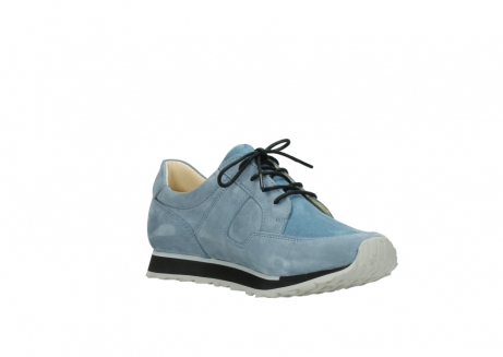 wolky lace up shoes 05800 e walk 20820 denim blue leather_16
