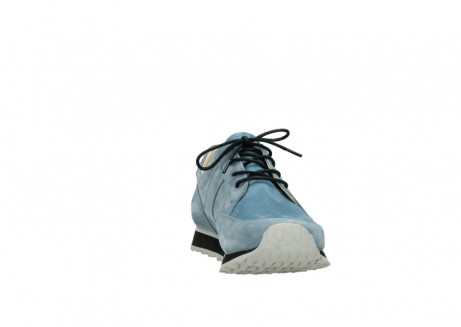 wolky lace up shoes 05800 e walk 20820 denim blue leather_18