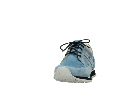 wolky lace up shoes 05800 e walk 20820 denim blue leather_20