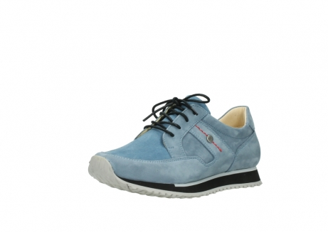 wolky lace up shoes 05800 e walk 20820 denim blue leather_22