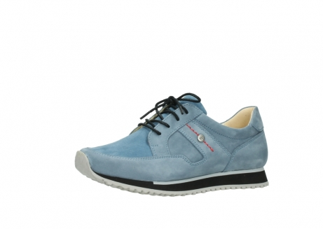 wolky lace up shoes 05800 e walk 20820 denim blue leather_23