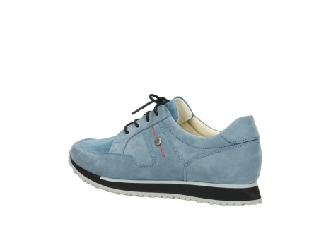 wolky lace up shoes 05800 e walk 20820 denim blue leather_3
