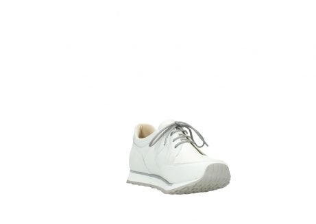 wolky chaussures a lacets 05800 e walk 70100 cuir blanc_17