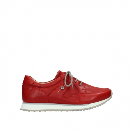 wolky lace up shoes 05800 e walk 70570 red summer leather