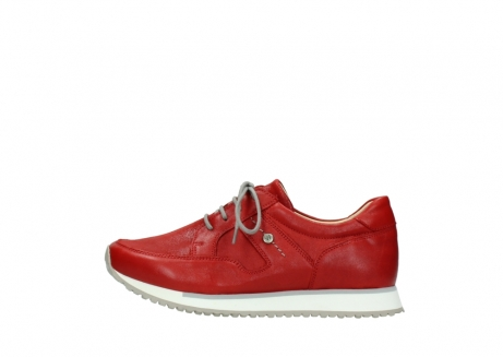 wolky lace up shoes 05800 e walk 70570 red summer leather_1