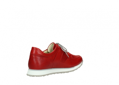 wolky lace up shoes 05800 e walk 70570 red summer leather_10