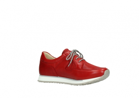 wolky lace up shoes 05800 e walk 70570 red summer leather_15
