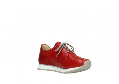 wolky lace up shoes 05800 e walk 70570 red summer leather_16