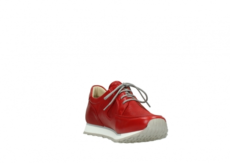 wolky lace up shoes 05800 e walk 70570 red summer leather_17