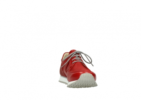 wolky lace up shoes 05800 e walk 70570 red summer leather_18