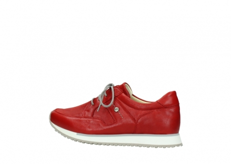 wolky lace up shoes 05800 e walk 70570 red summer leather_2