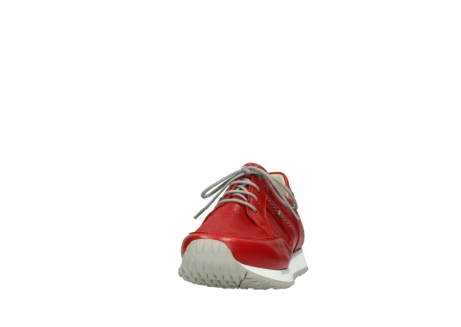 wolky lace up shoes 05800 e walk 70570 red summer leather_20