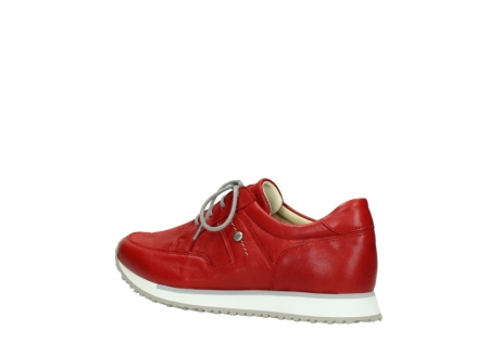 wolky lace up shoes 05800 e walk 70570 red summer leather_3