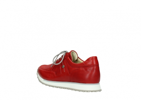 wolky lace up shoes 05800 e walk 70570 red summer leather_4