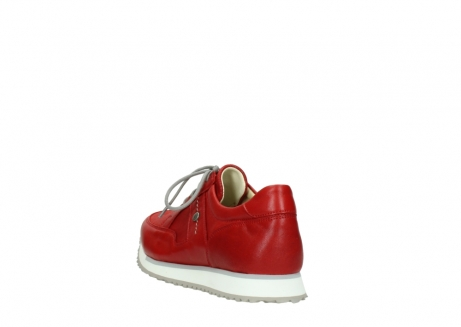 wolky lace up shoes 05800 e walk 70570 red summer leather_5