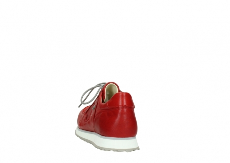 wolky lace up shoes 05800 e walk 70570 red summer leather_6