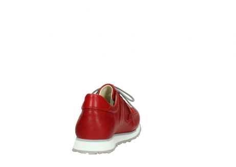 wolky lace up shoes 05800 e walk 70570 red summer leather_8