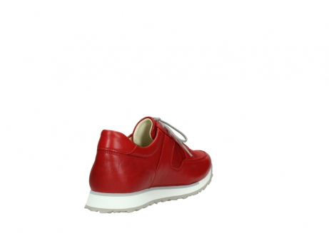 wolky lace up shoes 05800 e walk 70570 red summer leather_9